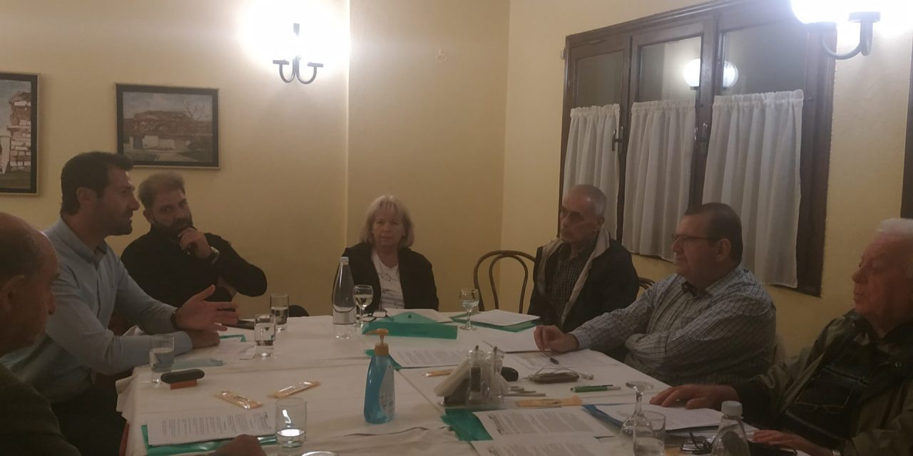 Συνεδρίαση του Διοικητικου Συμβουλιου του Πανελλήνιου Συλλόγου Ιαματικών Πηγών και Λουτροπόλεων Ελλάδας