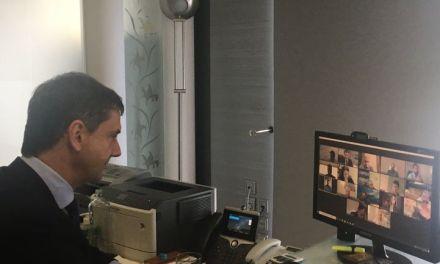 HAPCO : τηλεδιασκέψH  με τον Υπουργό Τουρισμού, κ. Χάρη Θεοχάρη
