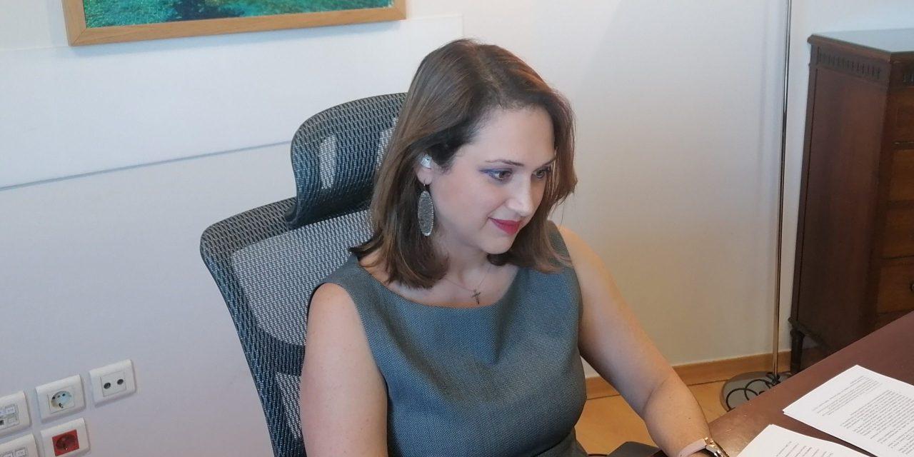 Ομιλία της Γενικής Γραμματέως Τουριστικής Πολιτικής κυρίας Βίκυς Λοϊζου στο Greek Economic Summit του Ελληνο-Αμερικανικού Επιμελητηρίου