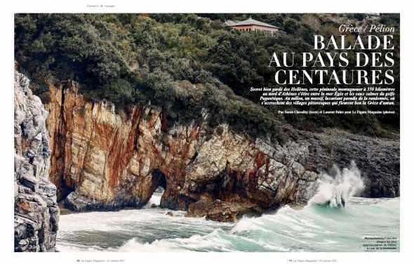26/01/21 – ΕΟΤ- Γαλλία: Προβολή του Πηλίου στο Le Figaro Magazine