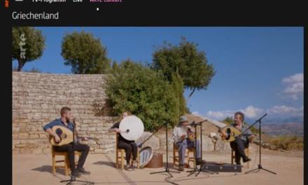 Αφιέρωμα του καναλιού ARTE στην ελληνική μουσική με τη συμβολή του ΕΟΤ