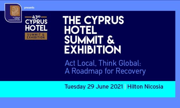 43ο Ξενοδοχειακό Συνέδριο & Έκθεση Παγκύπριου Συνδέσμου Ξενοδόχων (ΠΑΣΥΞΕ)Τρίτη, 29 Ιουνίου 2021