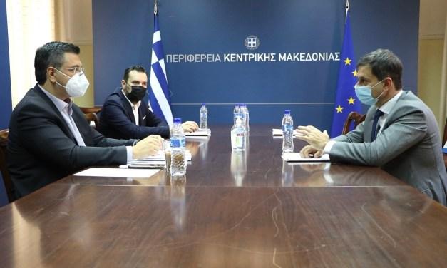 Συνάντηση Περιφερειάρχη Κεντρικής Μακεδονίας  με τον Υπουργό Τουρισμού