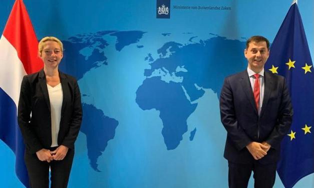 Συνομιλίες του Υπουργού Τουρισμού, κ. Χάρη Θεοχάρη στην Ολλανδία