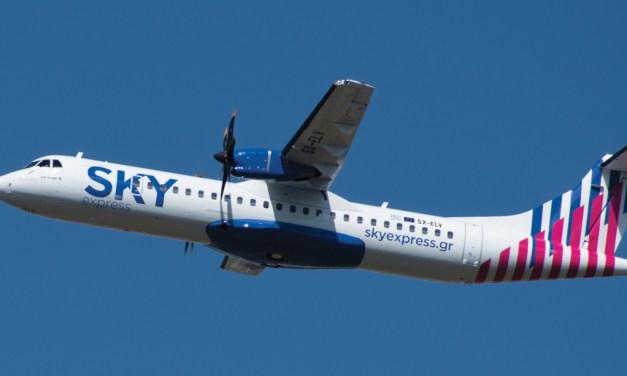 Το πρώτο ATR 72-600 στην Ελλάδα, προστέθηκε στο στόλο της SKY express