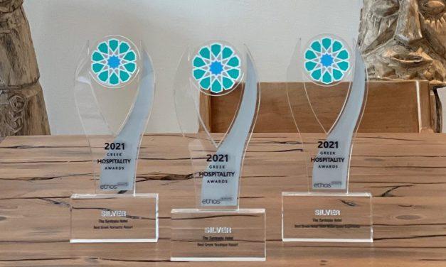 The Syntopia Hotel: Με τρία βραβεία ξεχώρισε στα Greek Hospitality Awards 2021