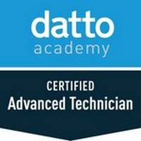 Datto Certified Advanced Technician Certification Badge