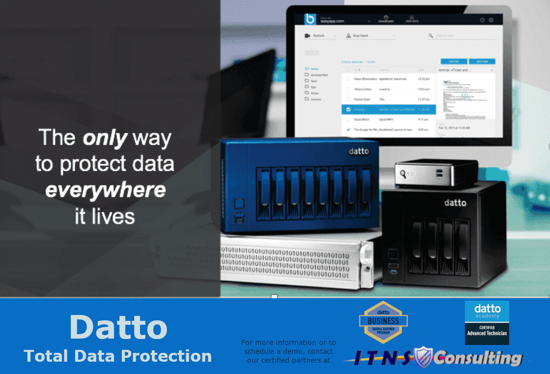Datto - Total Data Protection Graphic
