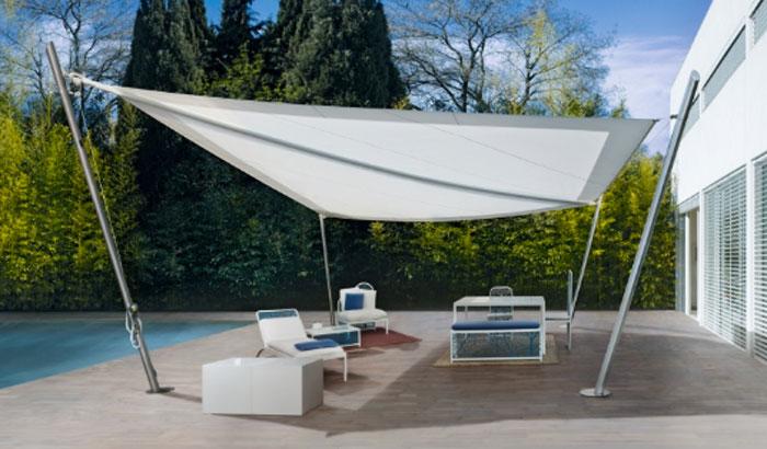 Le vele da sole permettono una tesatura e una chiusura facili. Tende A Vela Ombreggianti Guida Ai Migliori Modelli Sul Mercato Materiali Foto E Prezzi