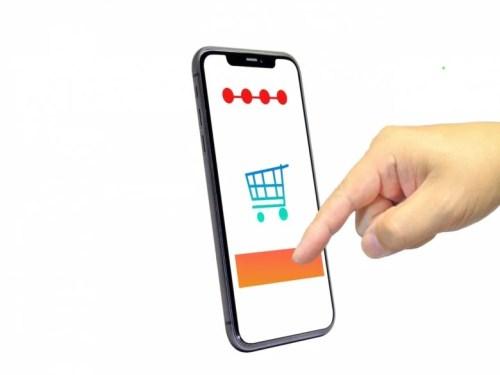 ネットショップスマホアプリの写真