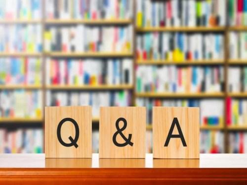 Q&Aのタイトル文字写真