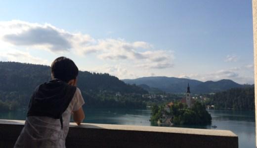 7/9 名門ホテルのカフェで優雅な午後を!ブレッド湖散策 , Bled , Slovenia