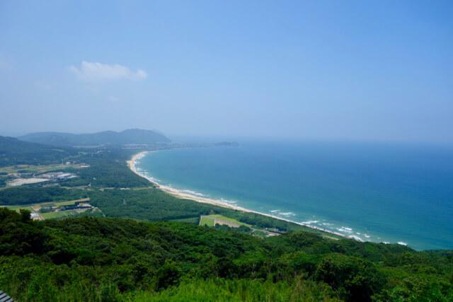 火山からの、糸島の絶景海岸線と、オススメの行き方!