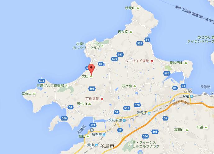 hiyama map