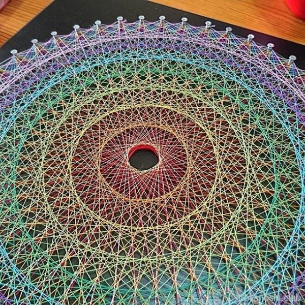 糸かけ曼荼羅も作ります!#曼荼羅 #マンダラ #マンダラアート #mandala #mandalaart #糸かけ