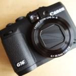 『Canon PowerShot G16』を買ってもらったよー