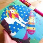 ほぼ日手帳カバーをホラグチカヨさんのプリントで作ったらこうなる! (手作りほぼ日カバー)