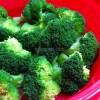 大地を守る会の基本お試し野菜セットのブロッコリーを食べたよ