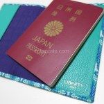 【旅支度】パスポートカバーはリバティ♪ お気に入りで見ているだけでテンションが上がっちゃう!