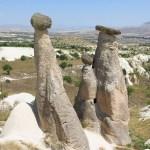 【トルコ旅行】カッパドキアのスリーシスターズ(三姉妹の岩)