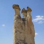 【トルコ旅行】カッパドキアのパシャバー(しめじ岩)