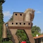 【トルコ旅行】トロイの木馬