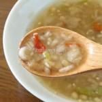 香醋と生姜で体が温まる日本恒順のサムゲタン風粥は冬のダイエット食に最適!