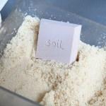いい天然塩や三温糖って湿気やすい…  板チョコ型乾燥剤soil 珪藻土 ドライングブロックを使ってみた