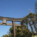 今日は天気がよくて、気持ちがいい。静かで素敵なところだ。#青空 #江東区 #富岡八幡宮