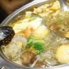 【台湾旅行】馬辣頂級麻辣鴛鴦火鍋ではスープ2種類の鴛鴦火鍋で