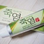【韓国みやげ】韓国の竹塩歯磨き粉、自分用にもお土産にもいいからスーパーでチェックしよう