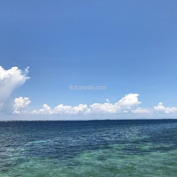 言わなければ、ここはホノルル🏝 ・・・な、フィリピンのマクタン島リゾートホテルのビジター利用でビーチを満喫♪