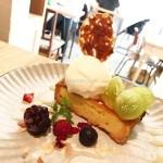 【新宿】ムブカフェのシャインマスカットのタルト ~カフェでの女子会はスイーツが欠かせない…