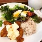 【恵比寿】Mother Leaf Tea Style 甘辛チキンと雑穀ご飯&サラダ+スープのランチ
