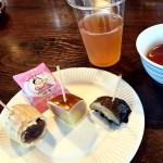 スイーツ紅茶会〜関東1都6県お土産食べくらべ会〜(@清澄庭園涼亭)で美味しいお菓子と紅茶をいただきました♪