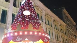 【アモイ旅行】クリスマスツリー@厦門中山路