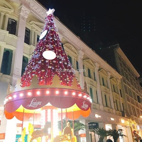 クリスマスツリー@厦門中山路.#クリスマスツリー #Xmas #Christmas  #厦門 #アモイ #中国  #xiamen #china #中山路 #イルミネーション #ライトアップ #Christmastree  #Xmastree  #キラキラ #instalove #instalovers #instalover #instatravel #instatravelling