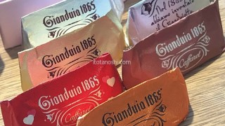 ジャンドゥーヤの元祖カファレルのバレンタインギフト 美味しくて可愛いチョコレート