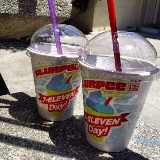 Slurpees from 7-Eleven