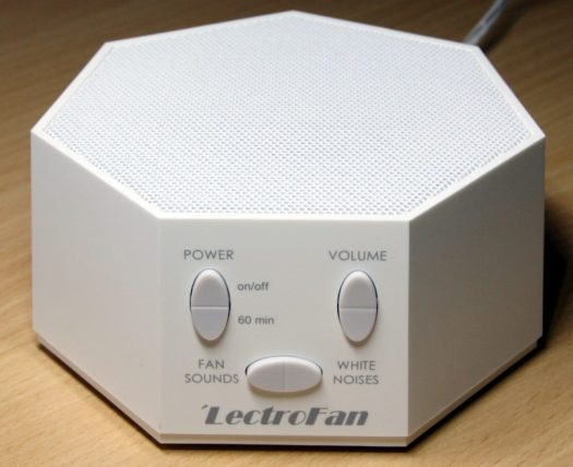 A white noise machine