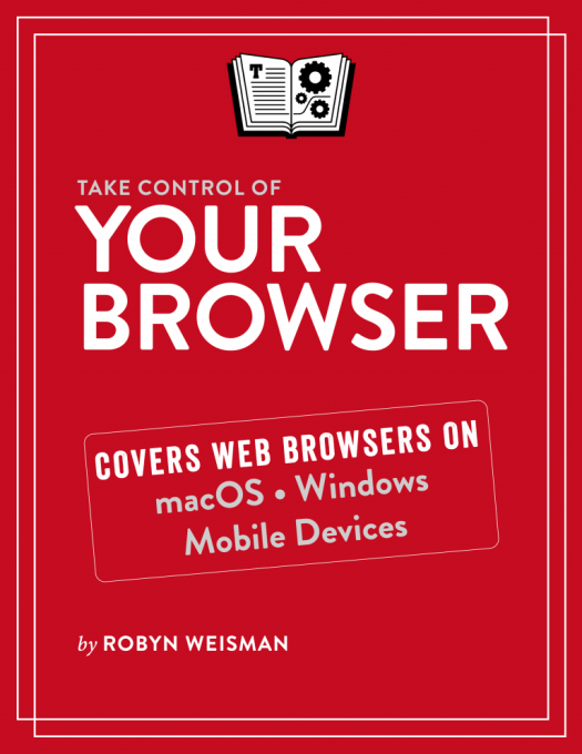 Take Control of Your Browser cover