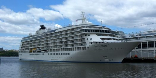 MS The World cruise ship
