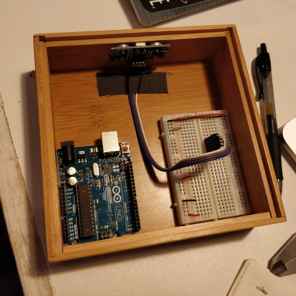 Arduino and sensor enclosure