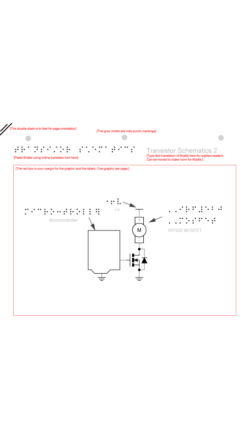 Schematic of Transistor by Krizia