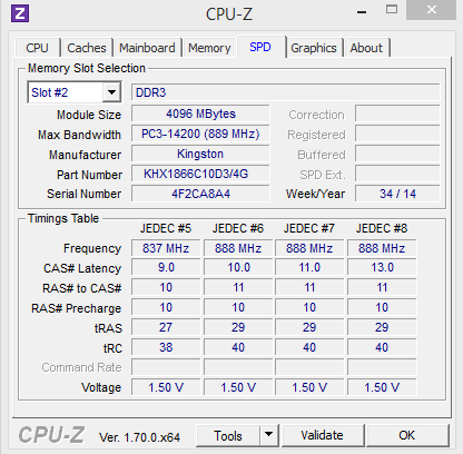 Kingston Fury - CPUZ2