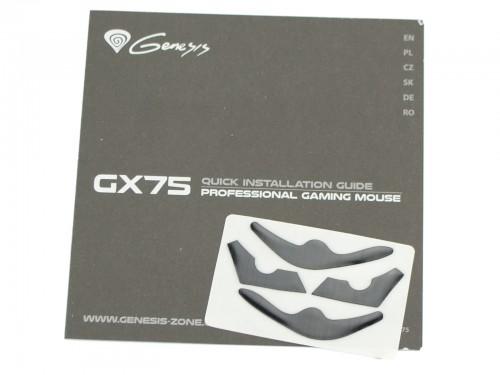 Natec Genesis GX75 - dodatki