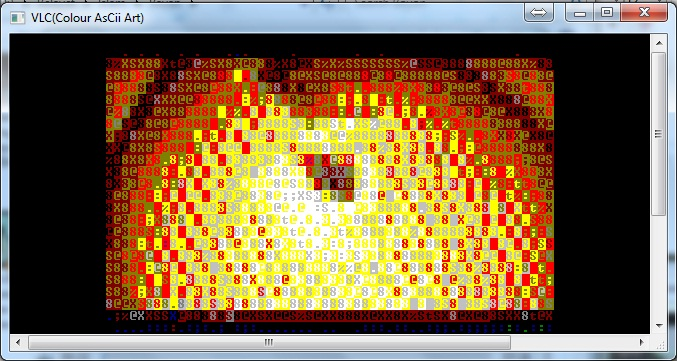 VLC Player Tips ASCII Characters
