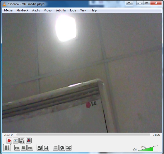 VLC Player Tips Record webcam