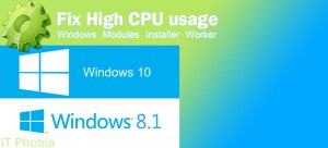 Windows modules installer worker High CPU Usage