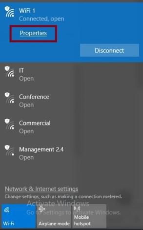 Windows modues installer worker WiFi Properties
